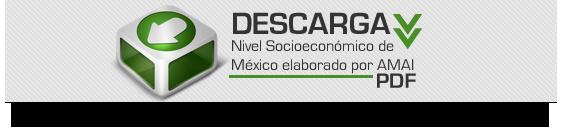 Nivel Socioeconómico de México elaborado por AMAI